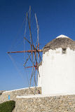 View of Mikonos. Image of Mykonos, Cyclades, Greece Stock Photography