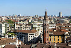 View of Milan 3 Royalty Free Stock Photos