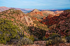 View of Mill Creek, Moab Utah Royalty Free Stock Image
