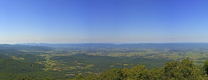 View From Millers Head Lookout, Shenandoah National Park Royalty Free Stock Image