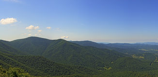 View From Millers Head Lookout, Shenandoah National Park Stock Image