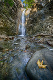 A view of milomeris waterfall . Stock Photo