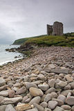 View of Minard Castle Stock Photography