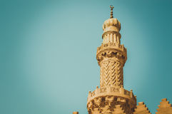 View of minaret Royalty Free Stock Image
