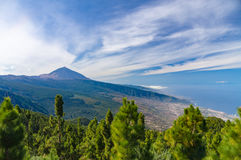 View from Mirador de Chipeque, Tenerife Royalty Free Stock Photos