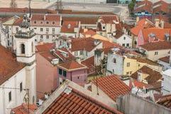 View from Mirador de Santa Lucia, Lisbon Stock Images