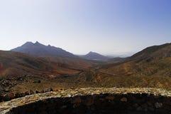 View from the Mirador Montana Cardones royalty free stock photo