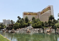 A View of the Mirage Hotel and Casino Stock Photos