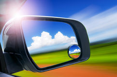 View mirror Royalty Free Stock Images