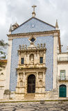 View at the  Misericordia church decorated with azulejo in Aveiro ,Portugal Stock Images