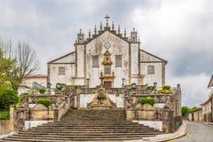 View at the Misericordia church in Santa Maria de Feira ,Portugal Royalty Free Stock Photo