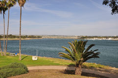 View of Mission Bay Stock Photo