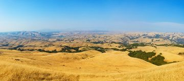 View from the Mission Peak, California Royalty Free Stock Images