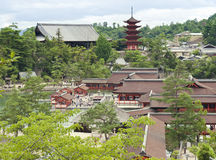 View at Miyajima Royalty Free Stock Photos