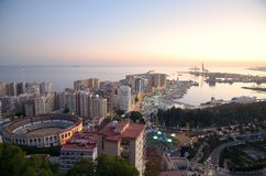 View of Málaga Stock Images