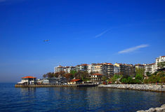 View of the Moda (Kadikoy), Istanbul. Royalty Free Stock Photo