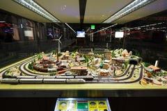 View of model railway in Dresden Stock Photography