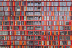 View at modern architecture in Rotterdam, the Netherlands Stock Photo