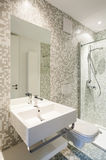 View modern bathroom Royalty Free Stock Photography