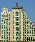 View on a modern building in Eilat, Israel Royalty Free Stock Photography