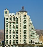 View on a modern building in Eilat, Israel Stock Photography