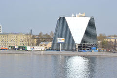 View of modern building, St.Petersburg. Royalty Free Stock Images