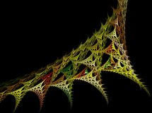View of modern fractal Stock Photo