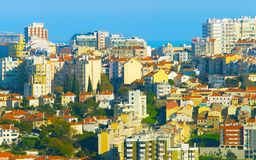 Lisbon real estate, Portugal royalty free stock photography