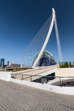View of a modern multi-purpose building in Valencia Royalty Free Stock Photos