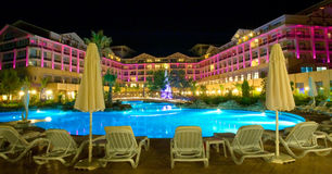 View of a modern resort in Kemer, Antalya Royalty Free Stock Photography