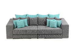 View of a modern sofa Stock Images