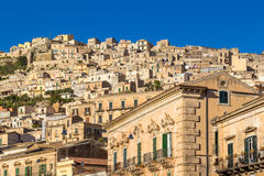 View of Modica, Italy Stock Images