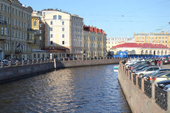 View of Moika Canal. Stock Photos