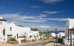 View of Mojacar from Macenas Royalty Free Stock Image
