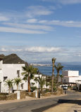 View of Mojacar from Macenas Stock Photography