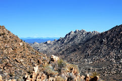 View of the Mojave Royalty Free Stock Photography