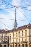 Turin, Italy - Mole Antonelliana view Royalty Free Stock Photos