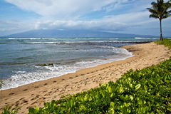 View of Molokai Stock Images