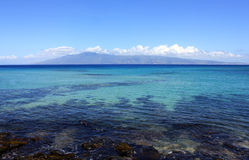 View on molokai hawaii Royalty Free Stock Photography