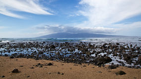 View of Molokai Royalty Free Stock Photos
