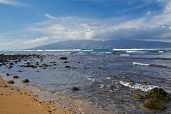 View of Molokai Royalty Free Stock Photography