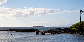 View of Molokini Crater Stock Photography