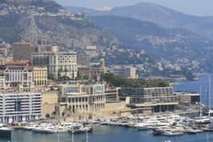 View on Monaco Stock Image