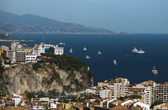 View of Monaco Royalty Free Stock Photography