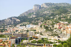View of Monaco Stock Photography