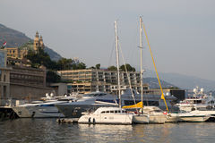 View of Monaco Royalty Free Stock Photo