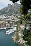 View Monaco Mediterranean Stock Photography