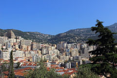 View of Monaco Stock Photo