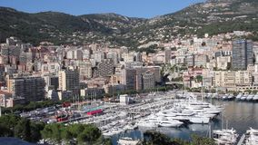 View of Monaco stock footage