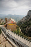 View from Monastery Montserrat, Barcelona, Spain Royalty Free Stock Photography